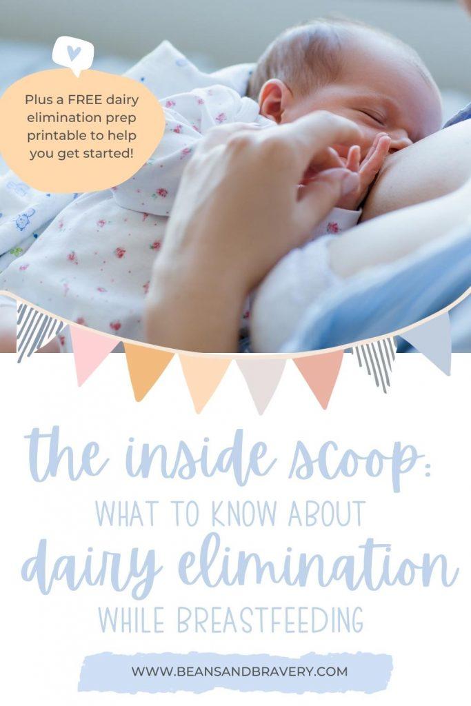 dairy elimination while breastfeeding