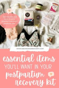 postpartum recovery essentials