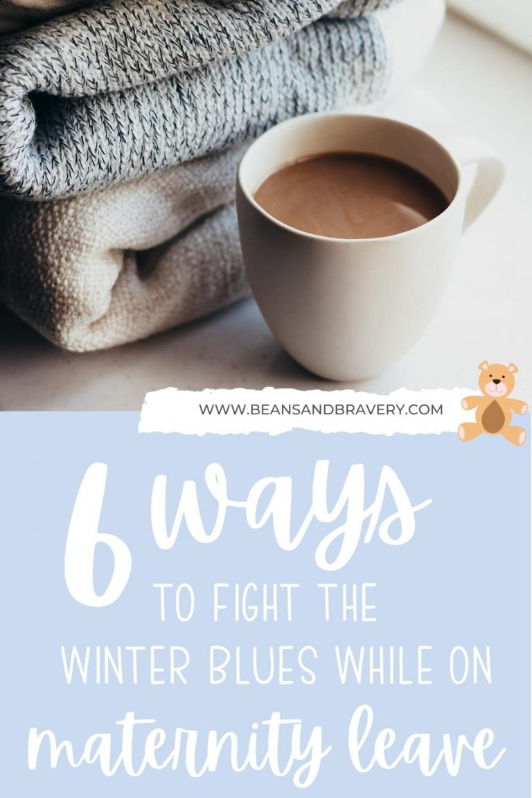 fight the winter blues on maternity leave